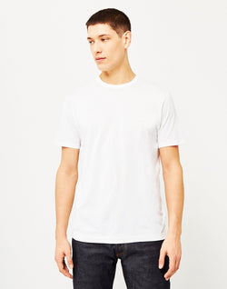 Sunspel - Q82 Short Sleeve T-Shirt White
