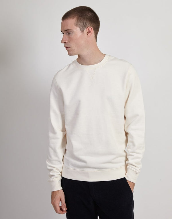 Sunspel - Sweat Top Archive White