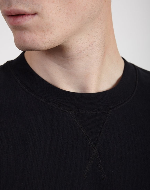 Sunspel - Sweat Top Black