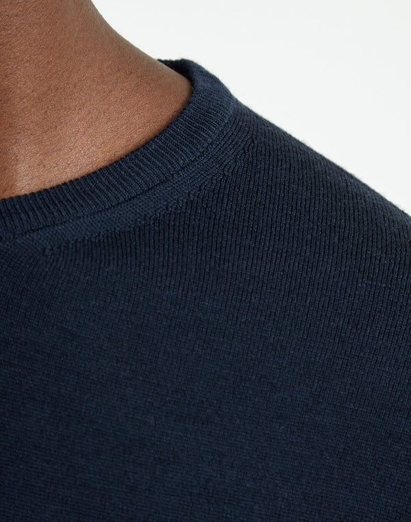Sunspel - Crew Neck Jumper Navy