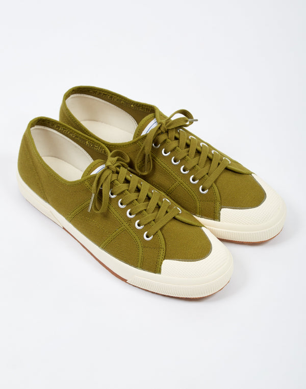 Superga - 2390 COTU Toe cap Military Green