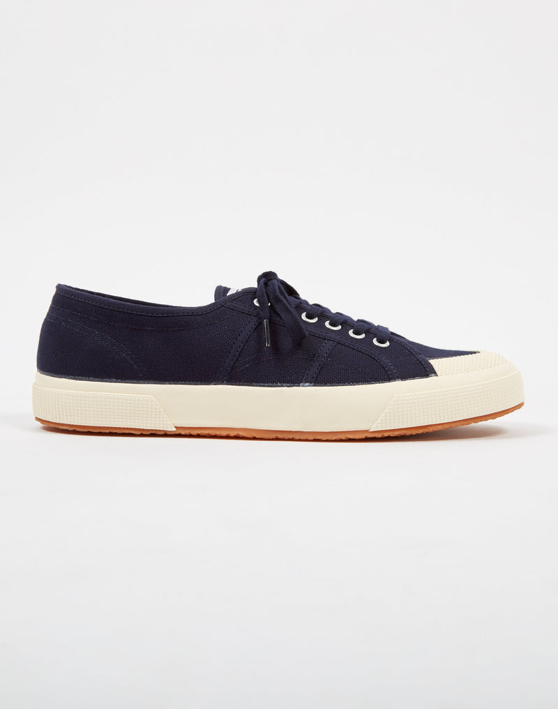 Superga - 2390 COTU Toe cap Navy