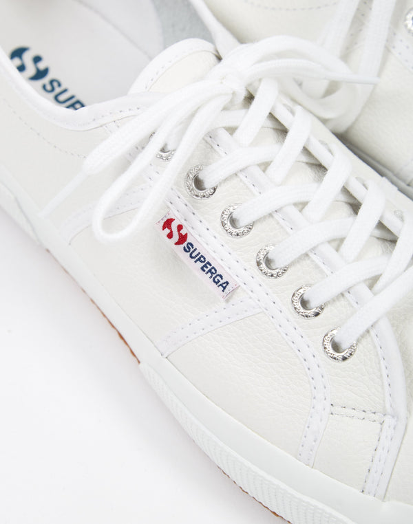Superga - 2750 EFGLU Leather White