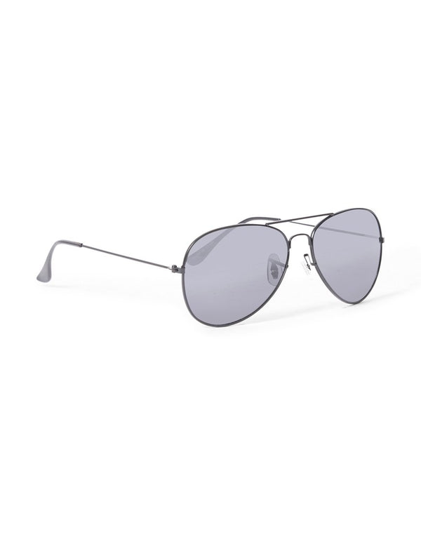 The Idle Man - Aviator Sunglasses Black