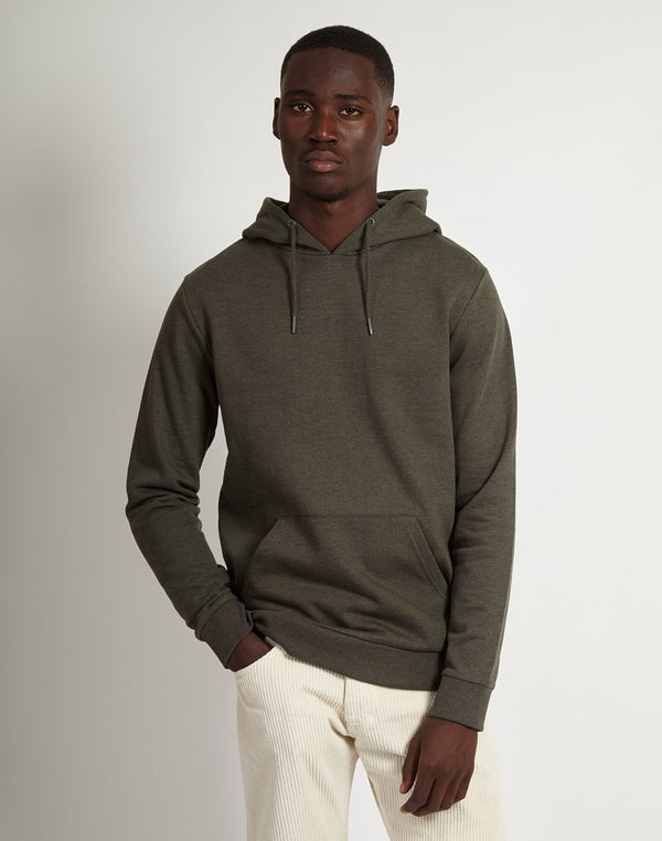 The Idle Man - Basic Hoodie Green