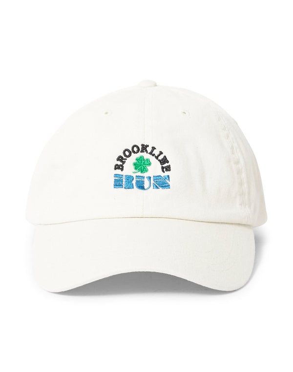 The Idle Man - Brookline Run Embroidered Cap Beige
