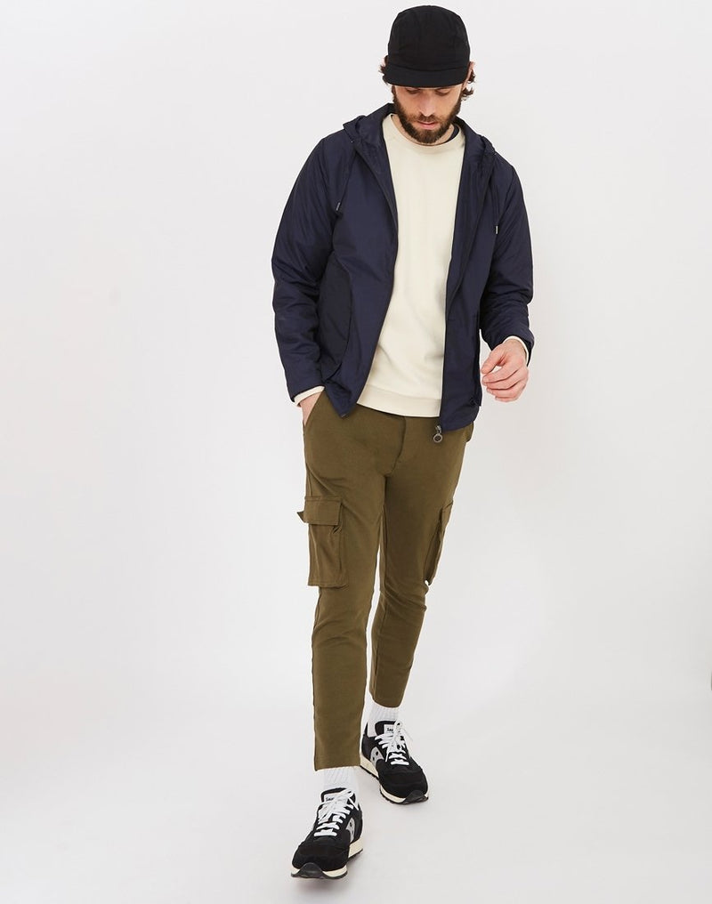 The Idle Man - Cargo Joggers Green