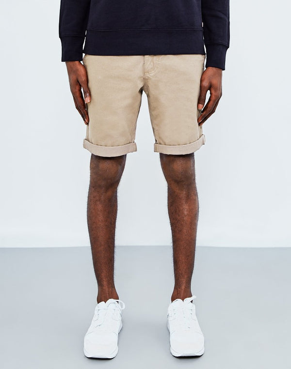 The Idle Man - Chino Short Tan