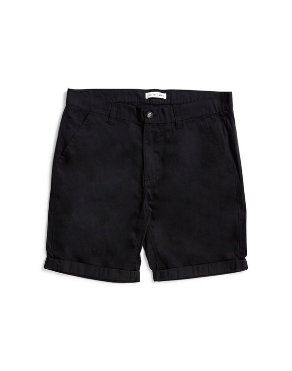 The Idle Man - Chino Shorts Black