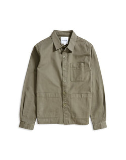 The Idle Man - Chore Jacket Green