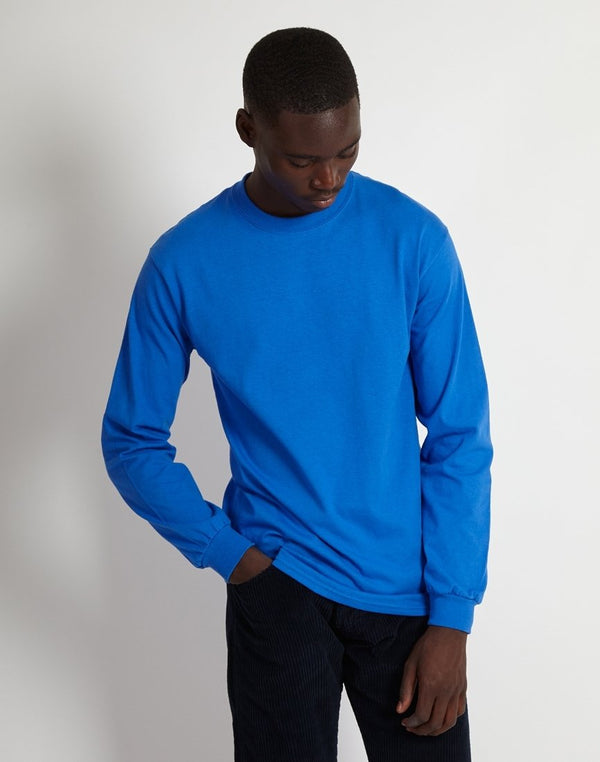The Idle Man - Classic Long Sleeve T-Shirt Blue