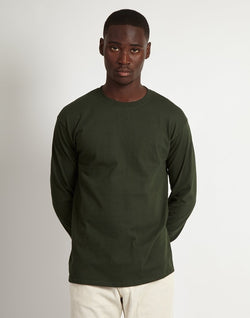 The Idle Man - Classic Long Sleeve T-Shirt Green