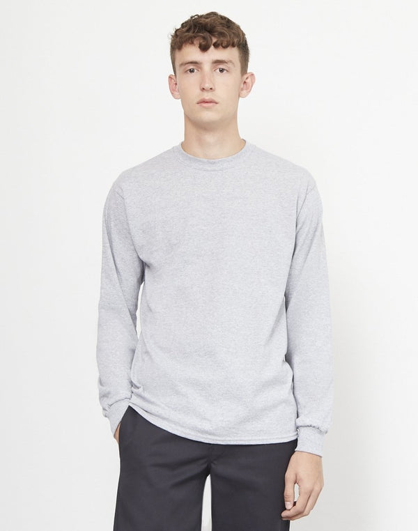 The Idle Man - Classic Long Sleeve T-Shirt Grey