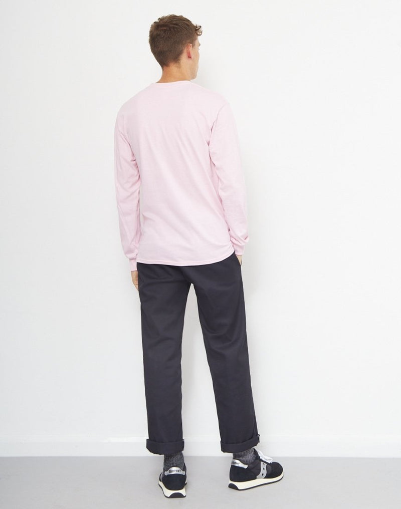 The Idle Man -Classic Long Sleeve T-Shirt Pink