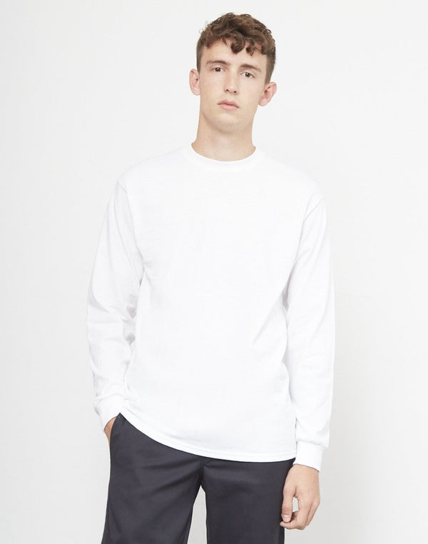 The Idle Man - Classic Long Sleeve T-Shirt White
