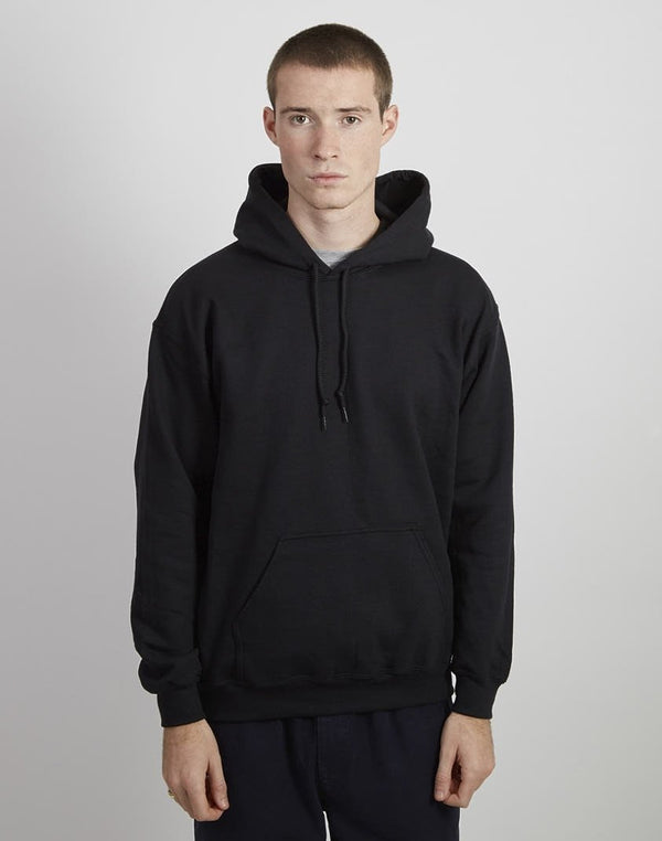 The Idle Man - Classic Overhead Hoodie Black