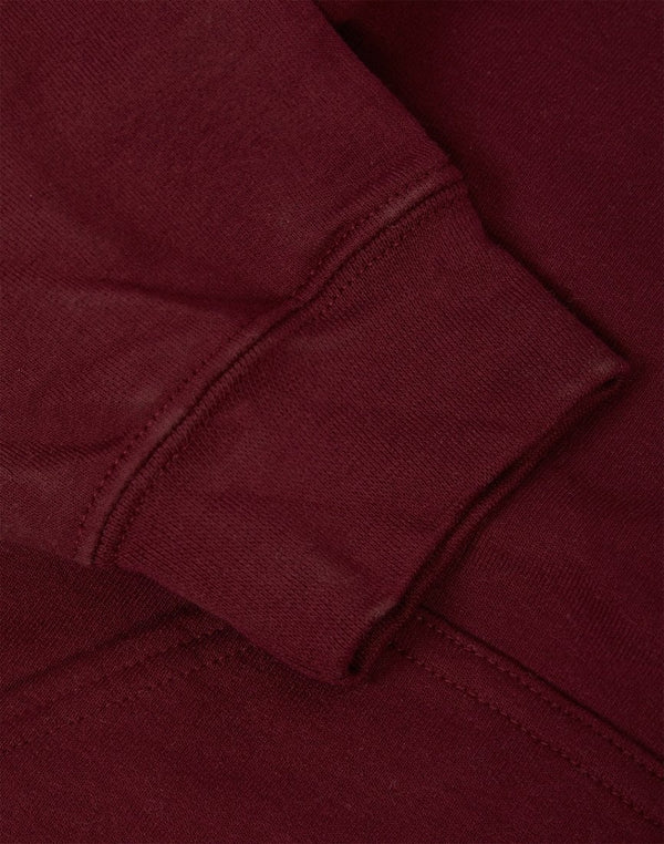 The Idle Man - Classic Overhead Hoodie Burgundy
