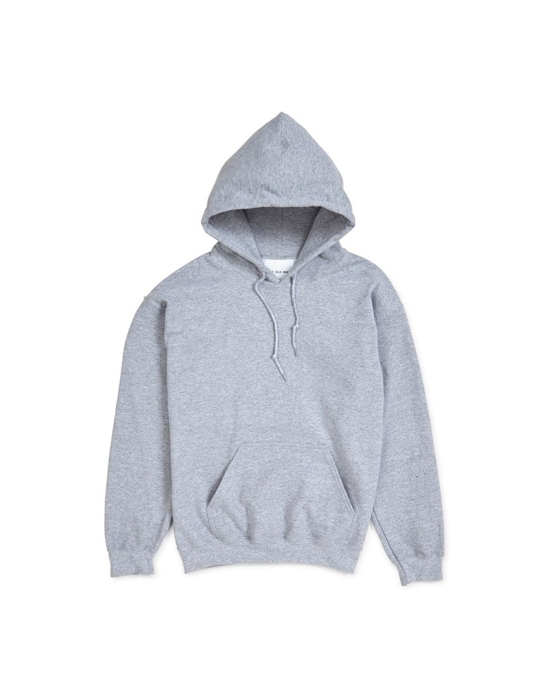 The Idle Man - Classic Overhead Hoodie Grey