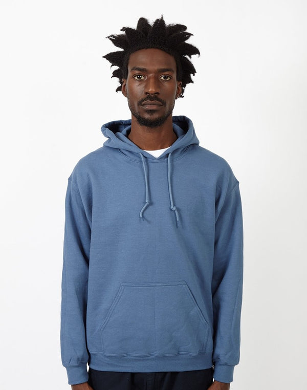The Idle Man - Classic Overhead Hoodie Light Blue