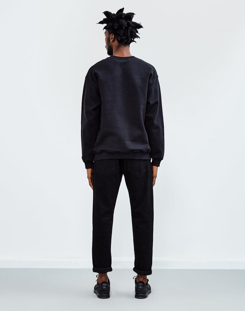 The Idle Man - Basic Sweatshirt Black