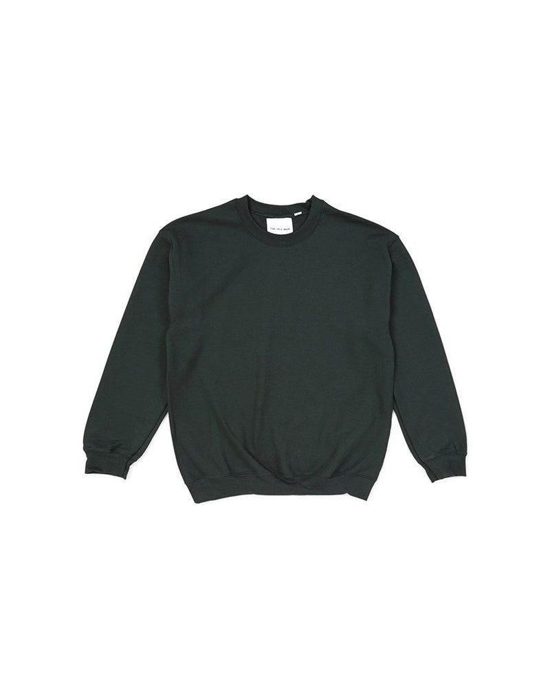 The Idle Man -Classic Sweatshirt Forest Green