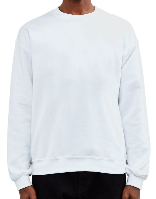 The Idle Man - Basic Sweatshirt White