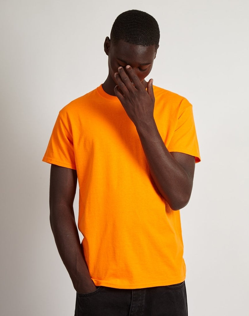The Idle Man - Classic T-Shirt Orange
