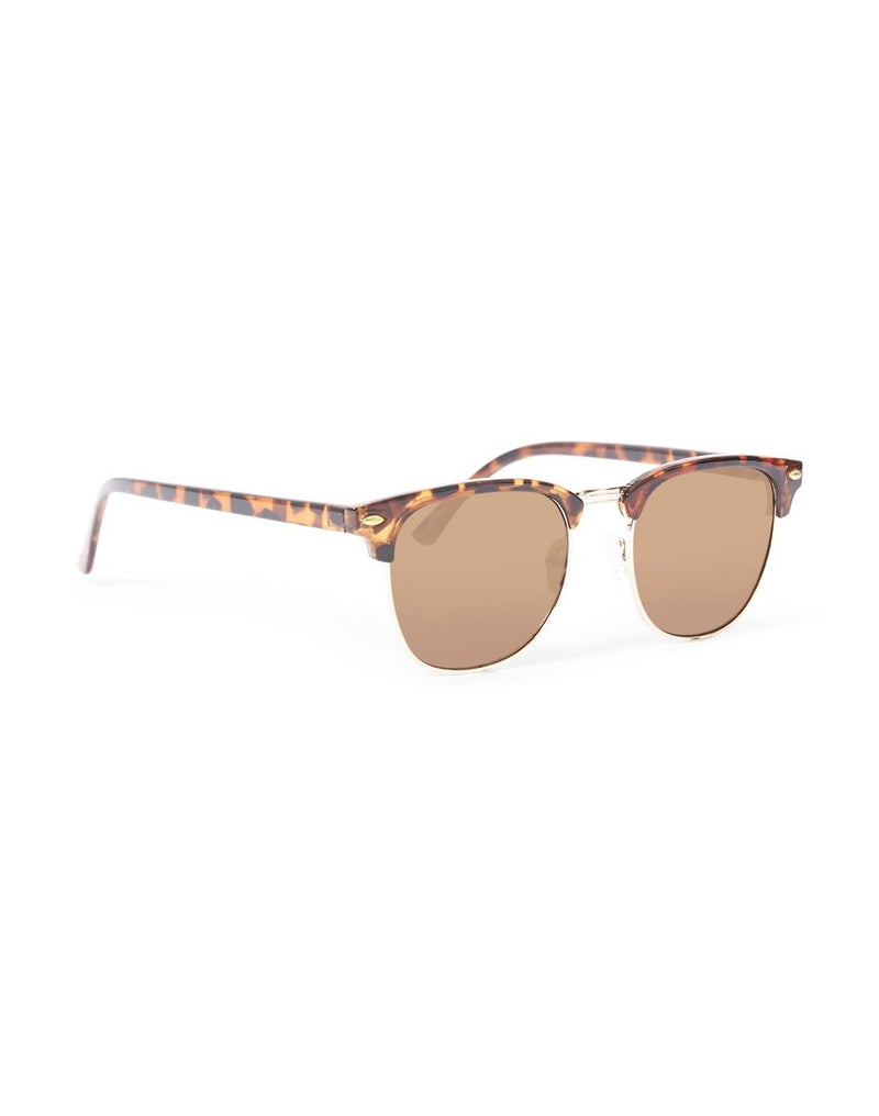 The Idle Man - Clubmaster Sunglasses Brown