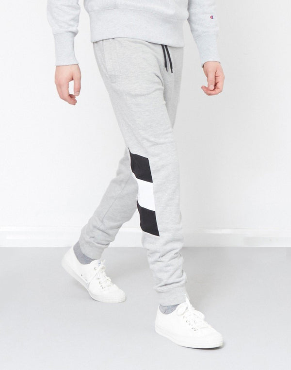 The Idle Man - Contrast Panel Jogger Grey