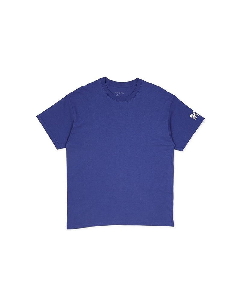 The Idle Man - Dreamcast Sunday Club T-shirt Cobalt Blue