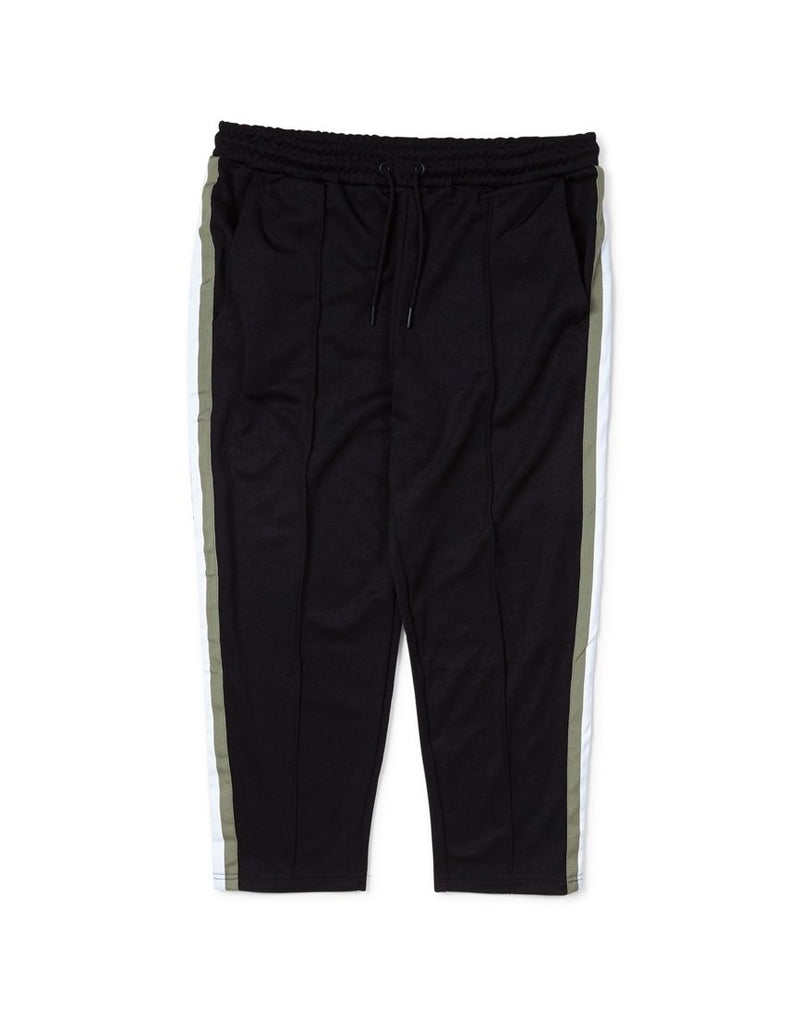 The Idle Man - Football Track Pants Black