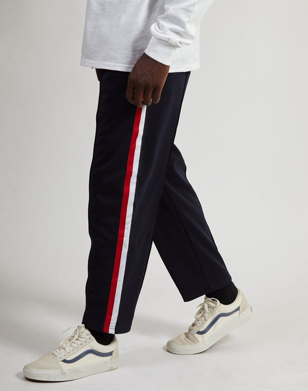 The Idle Man - Football Track Pants Navy