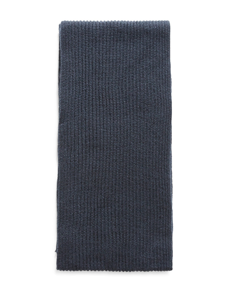 The Idle Man - Knitted Scarf Navy