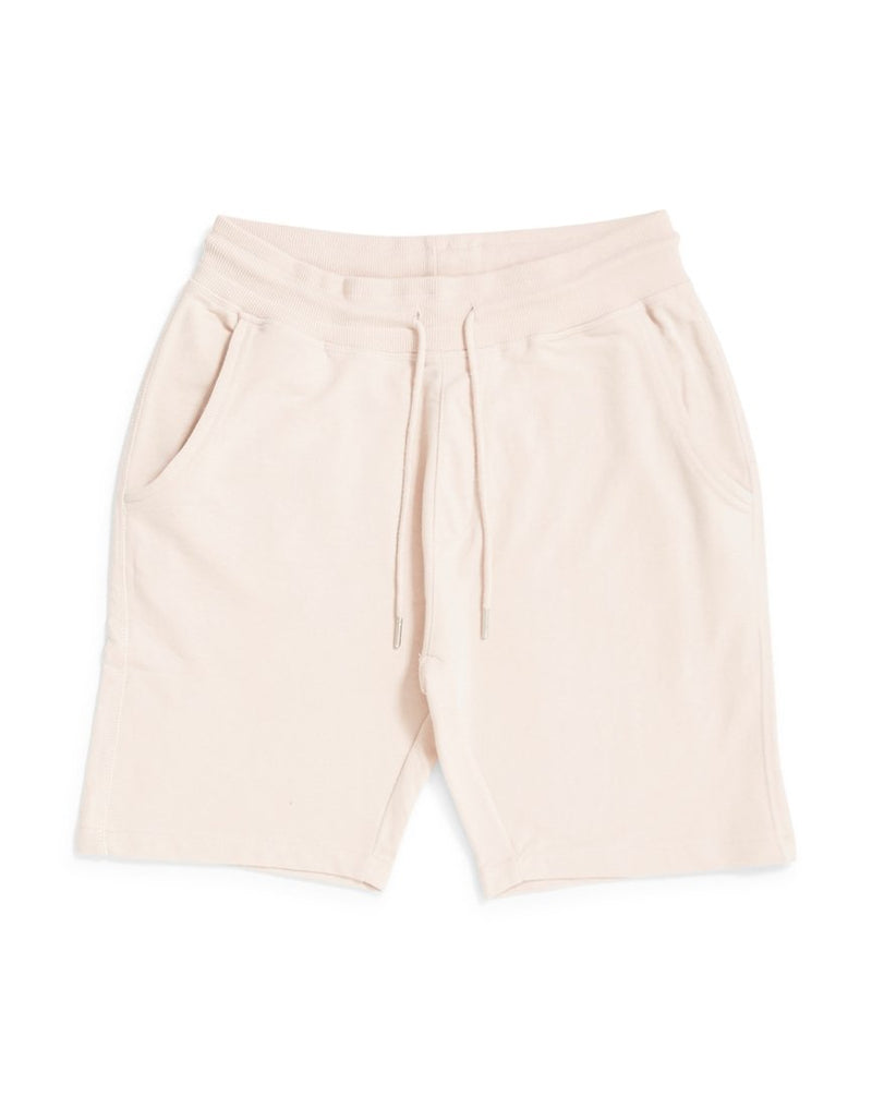 The Idle Man - Loopback Jersey Shorts Pink