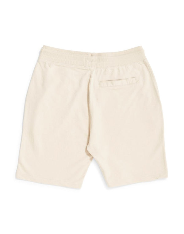 The Idle Man - Loopback Jersey Shorts Stone