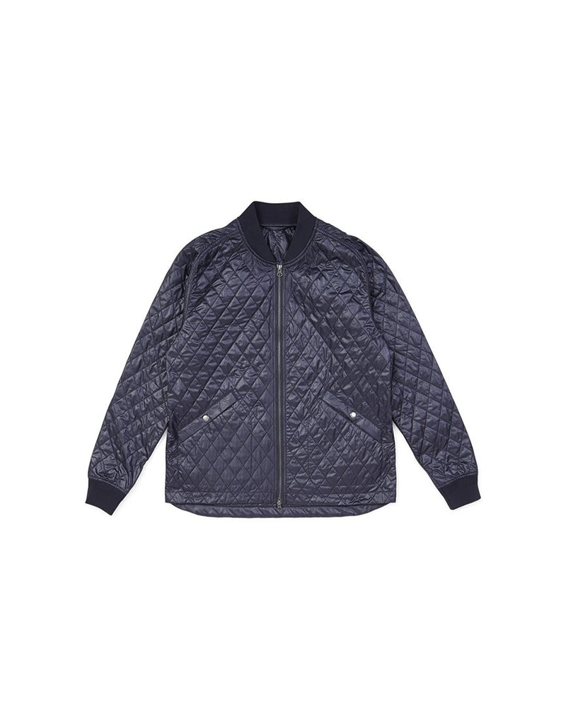 The Idle Man - Low Loft Quilt Bomber Navy