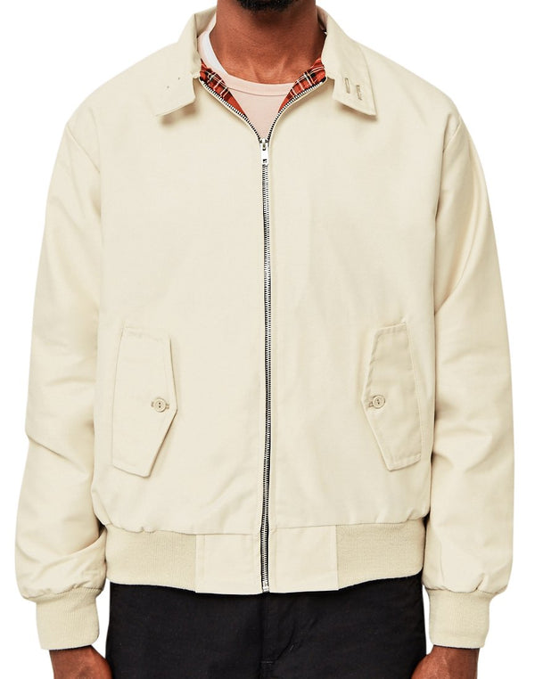 The Idle Man - Made In England Vintage Harrington Jacket Stone