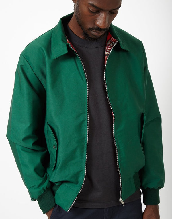 The Idle Man - Made In England Vintage Harrington Jacket Green