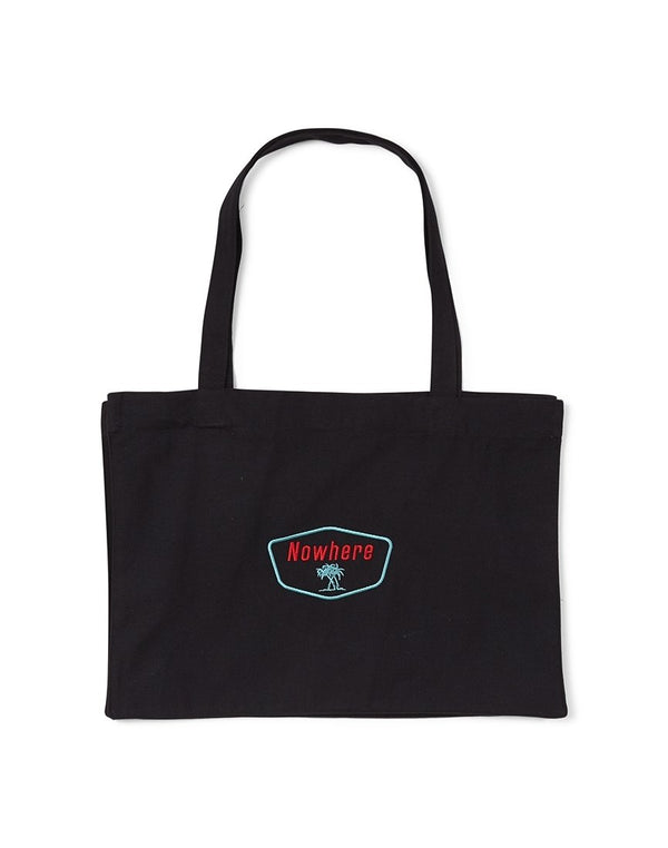 The Idle Man - Nowwhere Tree Tote Black
