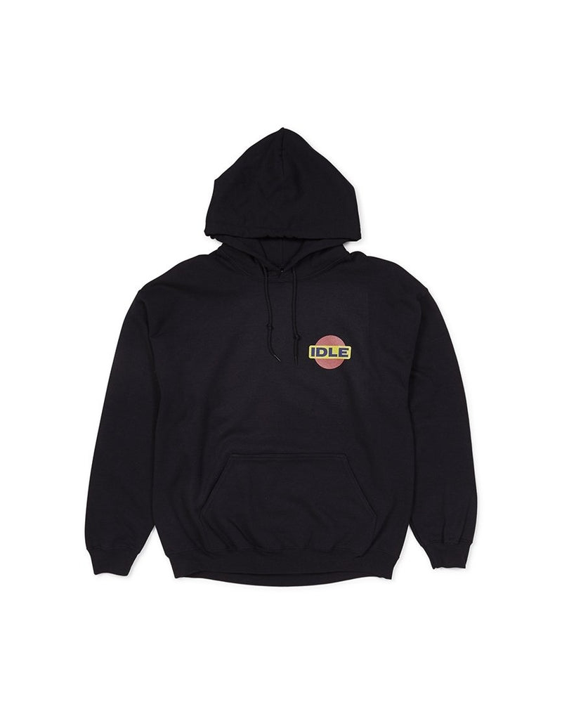 The Idle Man - Pin Drop Hoodie Black