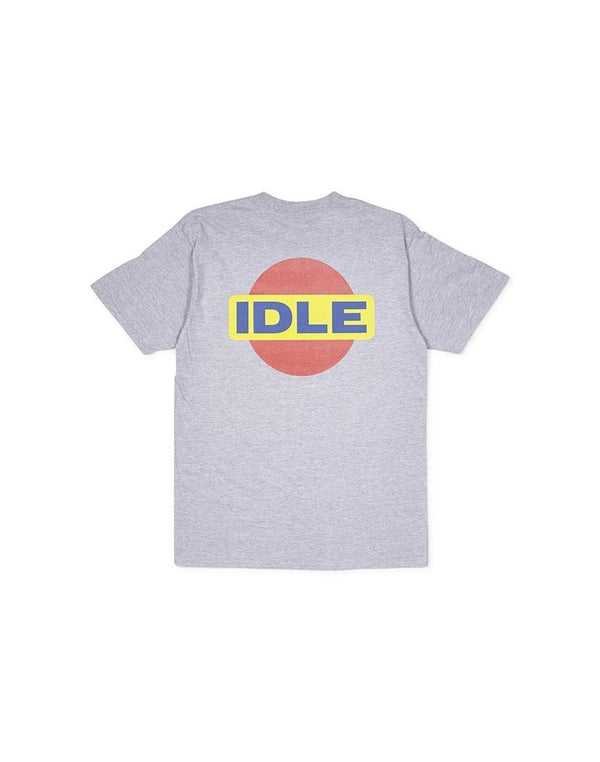 The Idle Man - Pin Drop T-shirt Grey
