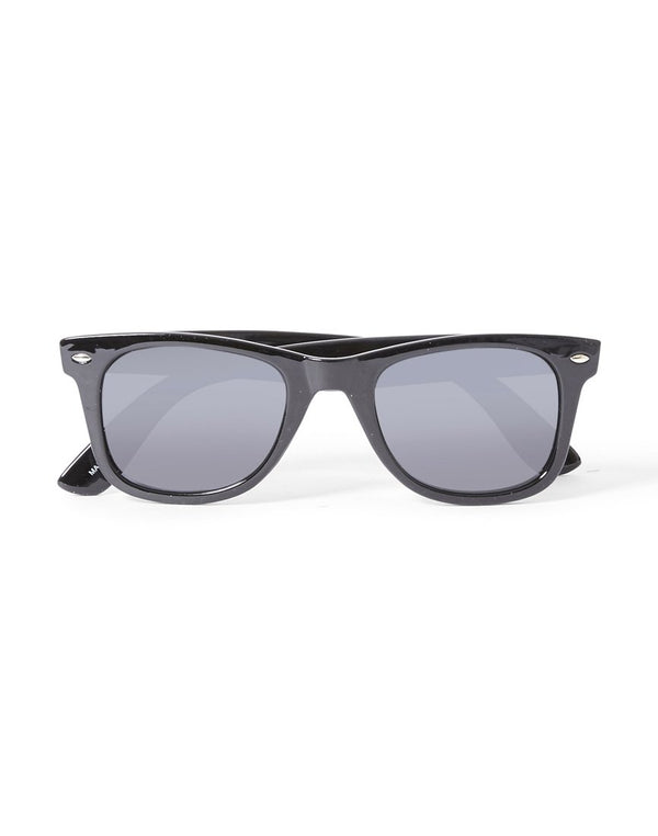 The Idle Man - Polarised Wayfarer Black
