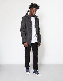 The Idle Man - Sherpa Lined Parka Black