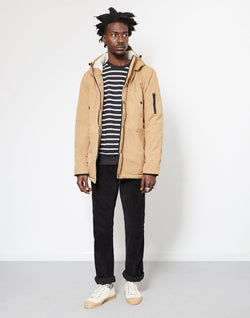 The Idle Man - Sherpa Lined Parka Stone