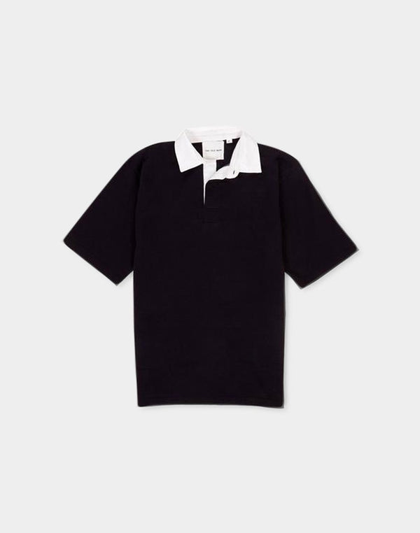 The Idle Man - Classic Rugby SS Shirt Navy