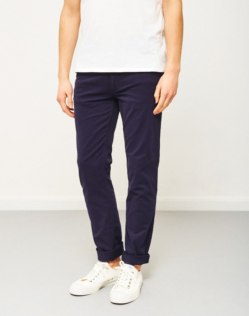 The Idle Man - Slim Fit Chino Navy