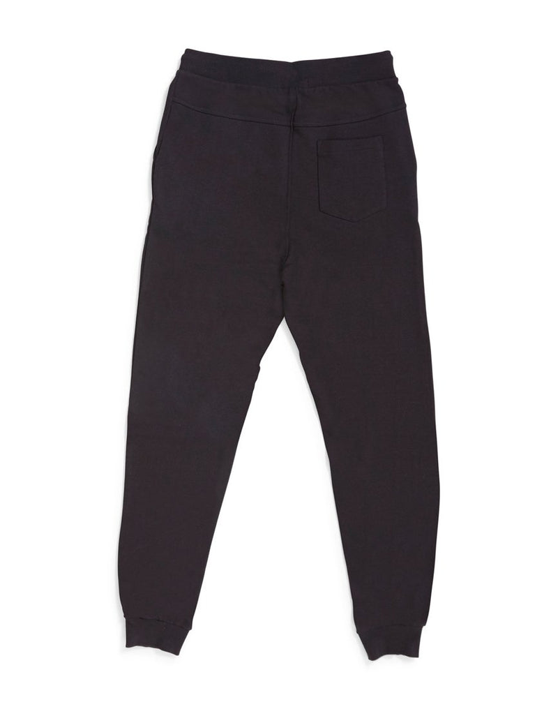 The Idle Man - Slim Fit Jogger Black