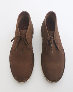 The Idle Man - Suede Desert Boot Tan