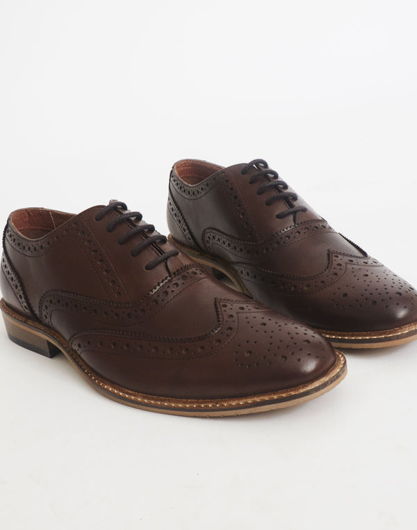 The Idle Man - Brogue Brown