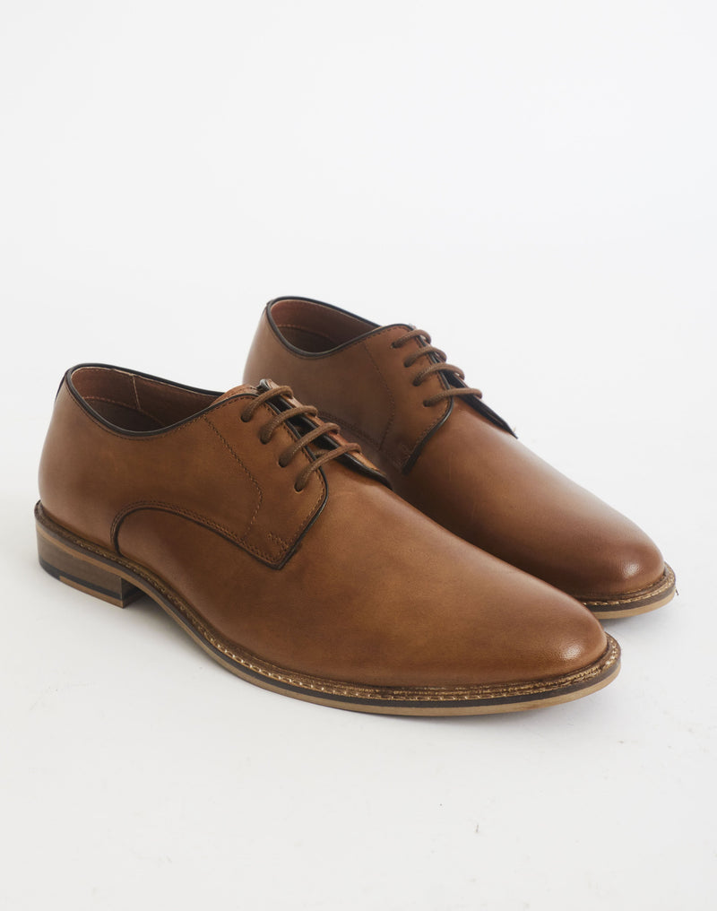 The Idle Man - Derby Shoe Tan